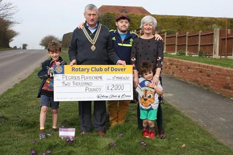 Dover Rotary £2,000