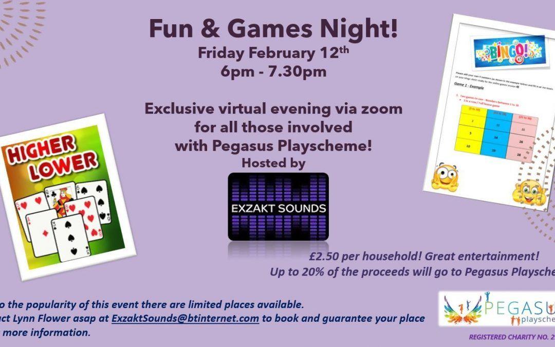 Fun and Games Night
